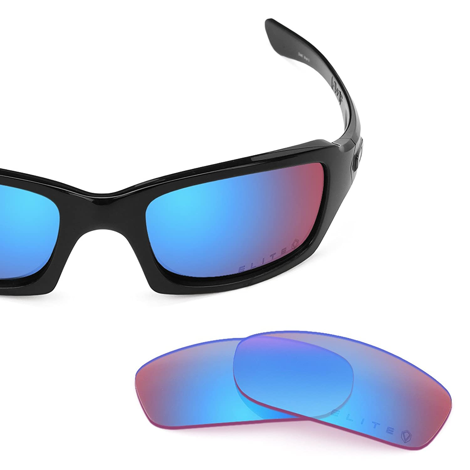 3b9f9c2ad6898 Revant Replacement Lenses for Oakley Fives 3.0 Black Chrome MirrorShield®  larger image