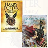 img - for Harry Potter and the Cursed Child, Parts 1 & 2 and Harry Potter and the Philosopher's Stone 2 Books Bundle Collection book / textbook / text book
