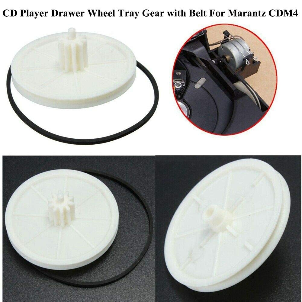 TS Trade CDM-4 CDM4 CD Player Drawer Wheel Tray Gear with Belt for Marantz