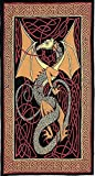Celtic Dragon Tapestry-Throw-Spread-Wall-Many Uses