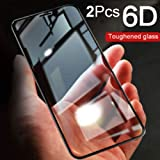 Magic Tempered Glass for Huawei Y9 2019,Pack of 2 6D Tempered Glass Original Screen Protector 6D Curved Scratch Resistant Huawei Y9 2019, 6D Screen Protector by Magic (Pack of 2)