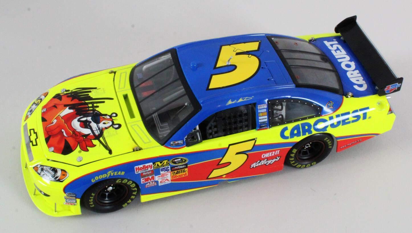 Mark Martin Signed Die Cast Car NASCAR COA JSA Certified Autographed Diecast Cars