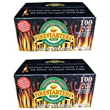 Lightning Nuggets N100SEB Firestarters Super Economy Box of Fire-Starting Nuggets, 100 Count (2)