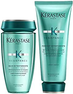 KERASTASE Bain Extentioniste 8.5 Oz. & Fondant Extentioniste 6.8 Oz. Duo Set, Set oz.