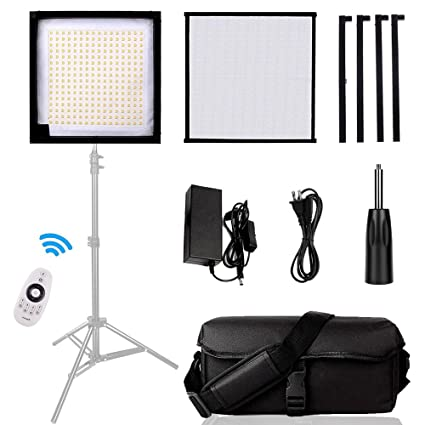 Led Lighting Panel SAMTIAN Dimmable 5600K Led Photography Video Panel Light with 3030cm Soft Fabric  sc 1 st  Amazon.com & Amazon.com: Led Lighting Panel SAMTIAN Dimmable 5600K Led ... azcodes.com