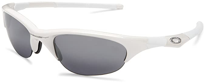 oakley white frame sunglasses  Amazon.com: Oakley Men\u0027s Half Jacket Iridium Sunglasses,Pearl and ...