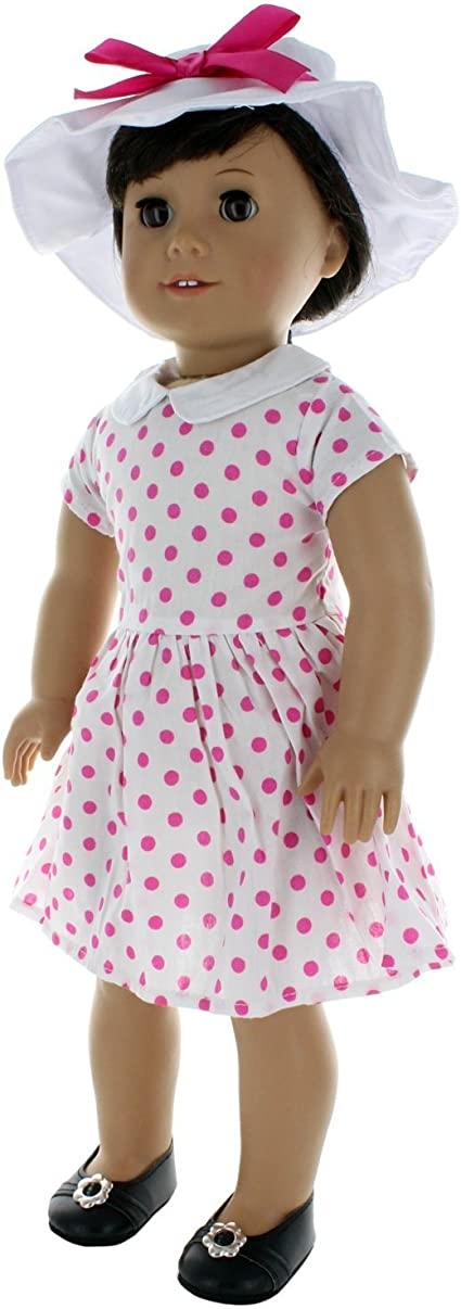 """Doll Clothes Legging Dog Outfit Pink Butterfly Closet Fits American Girl 18/"""""""