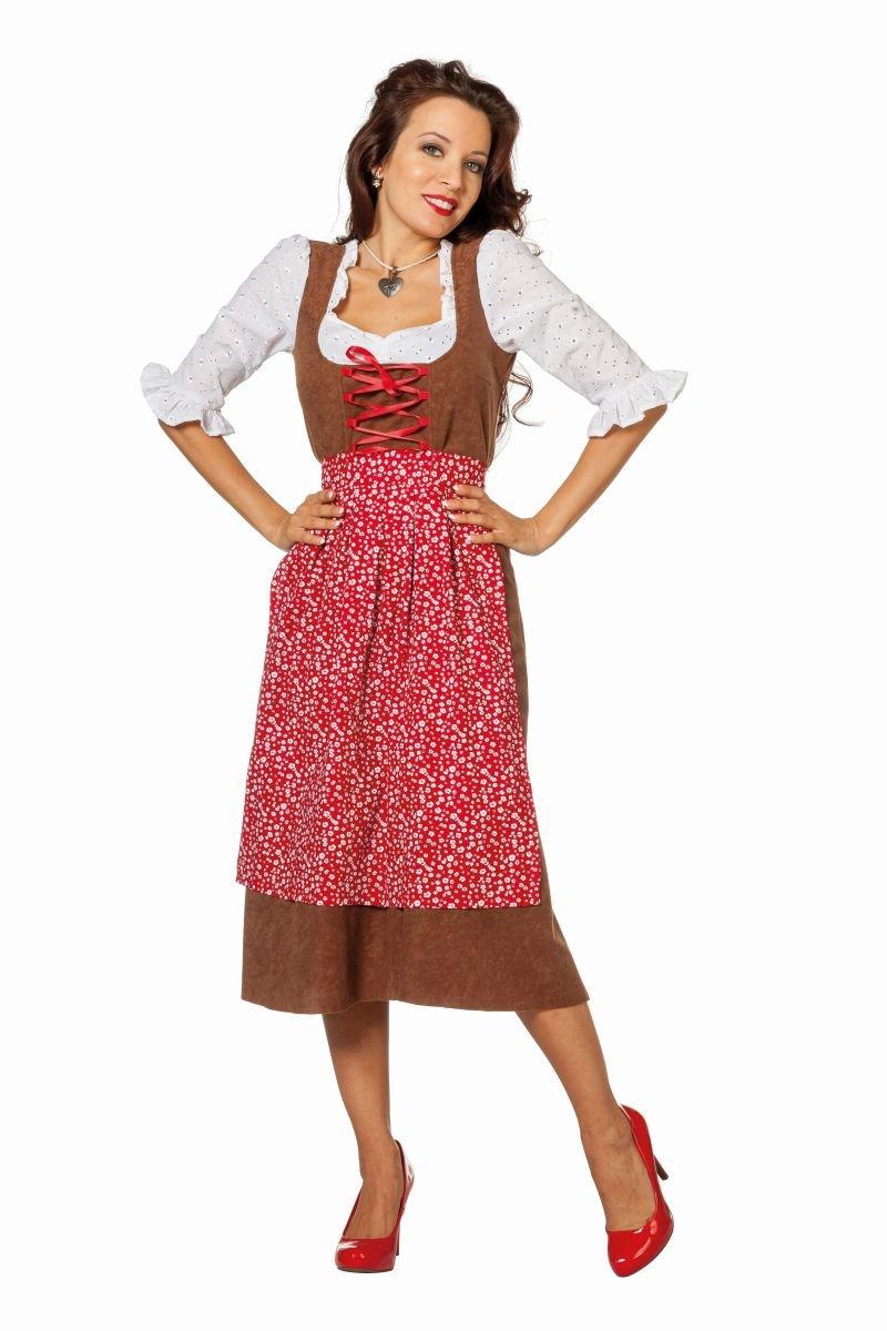 Disfraz de tirolesa Tirol Erin Carnaval de octubre de talla 36 (S ...