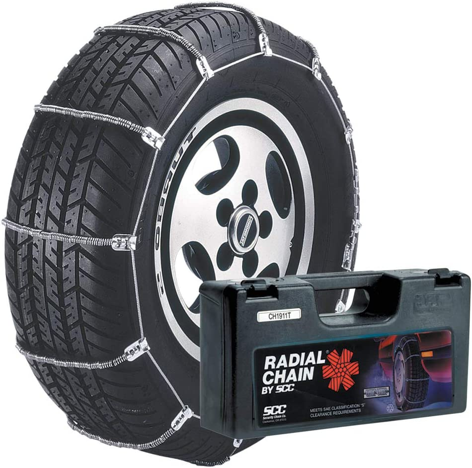 Set of 2 Security Chain Company SC1036 Radial Chain Cable Traction Tire Chain