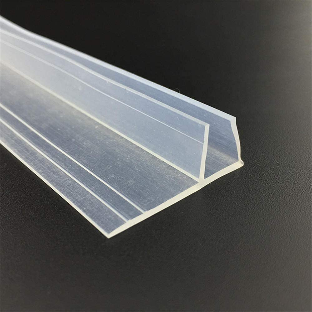 Draft Excluder Strip Weatherstrip Draft Stopper 12mm Glass Gliding ...