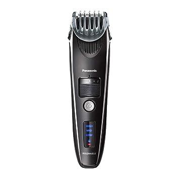 Recortadora de barba Panasonic para hombre Rendimiento de precisión sin cable, pinza para el pel...