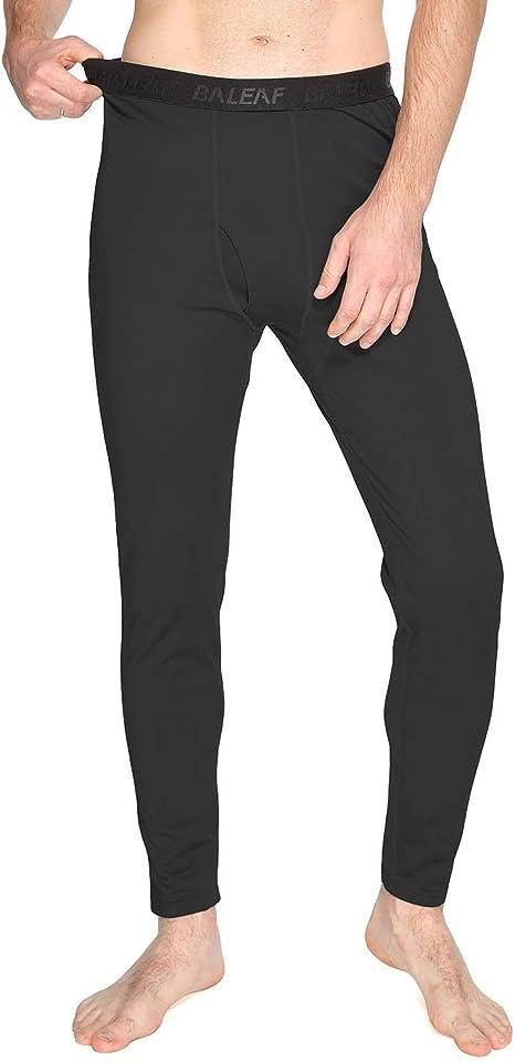 BALEAF Womens Heavy Weight Thermal Leggings Tights Stretch Fleece Warm Winter Base Layer Underwear