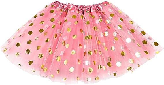 MIOIM® Tutu Falda de Fiesta de la Princesa Sparkle Brillo ...