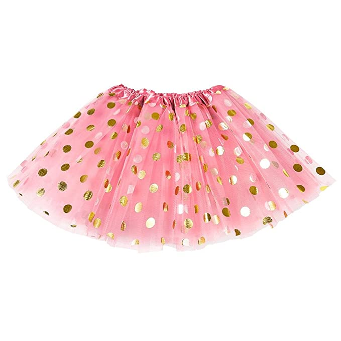 fe2083069 MIOIM® Tutu Falda de Fiesta de la Princesa Sparkle Brillo Lentejuelas  Estrellas Danza Ballet Tul Mini Falda para Niñas: Amazon.es: Ropa y  accesorios