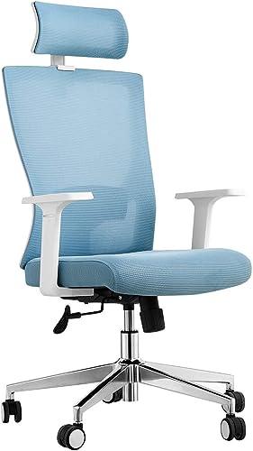 Ergonomic Desk Chair Home Office Computer Chair Rolling Swivel Mesh Chair