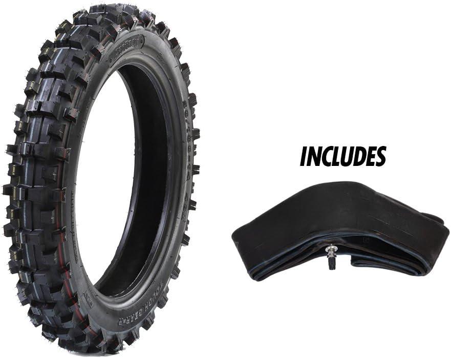 "Protrax Rear Tiretough Gear Offroad Motocross 90/100-16 Tire & Tube 3.50 X 16"" Combo Kit - Soft/Intermediate Terrain 61RM1eHxtUL"