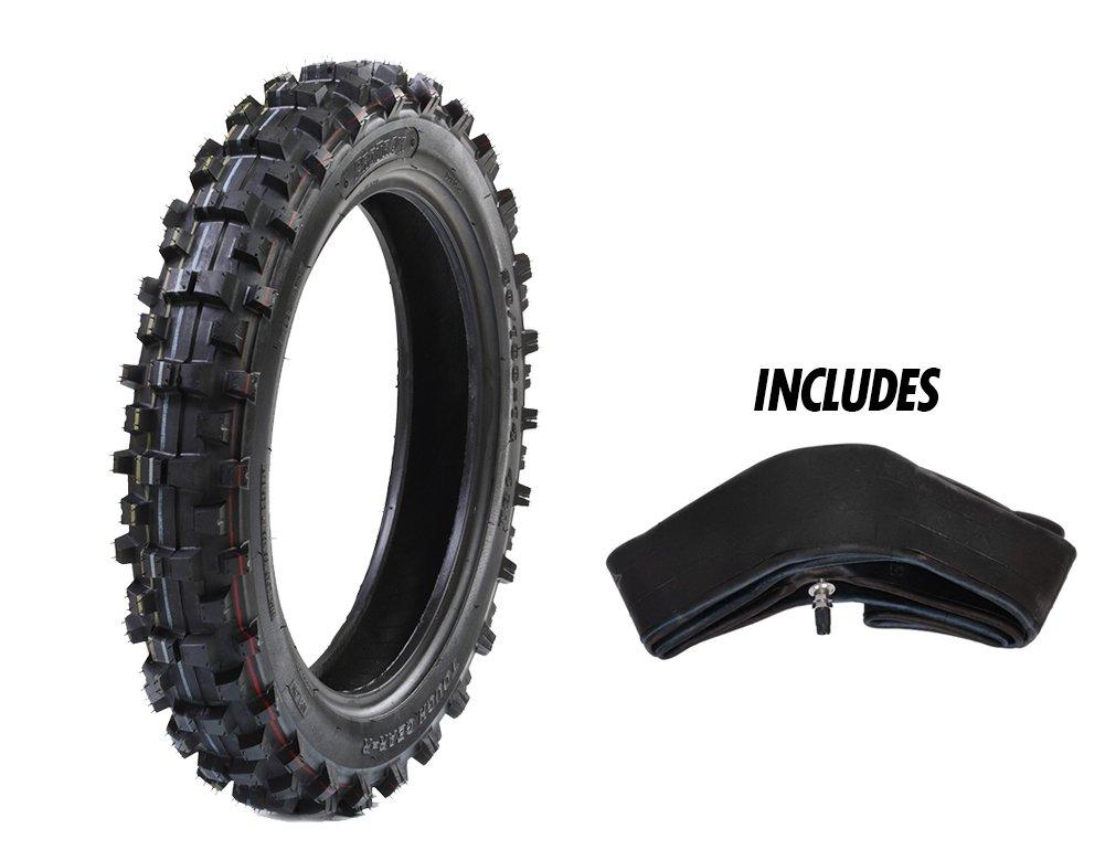 ProTrax REAR TireTough Gear Offroad Motocross 90/100-14 Tire & Tube 3.60-4.10 x 14'' Combo Kit - Soft/Intermediate Terrain