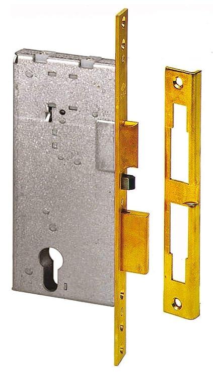 Cisa 11540-50 - Cerradura de embutir para puertas, Entrada 50 Mm
