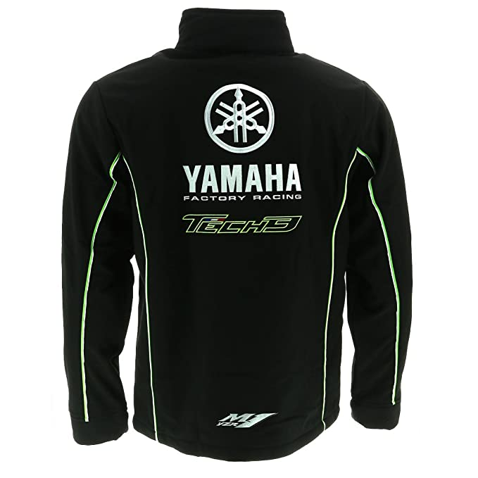 Tech 3 Yamaha Moto GP Racing Team Soft Shell Chaqueta Oficial 2017: Amazon.es: Deportes y aire libre