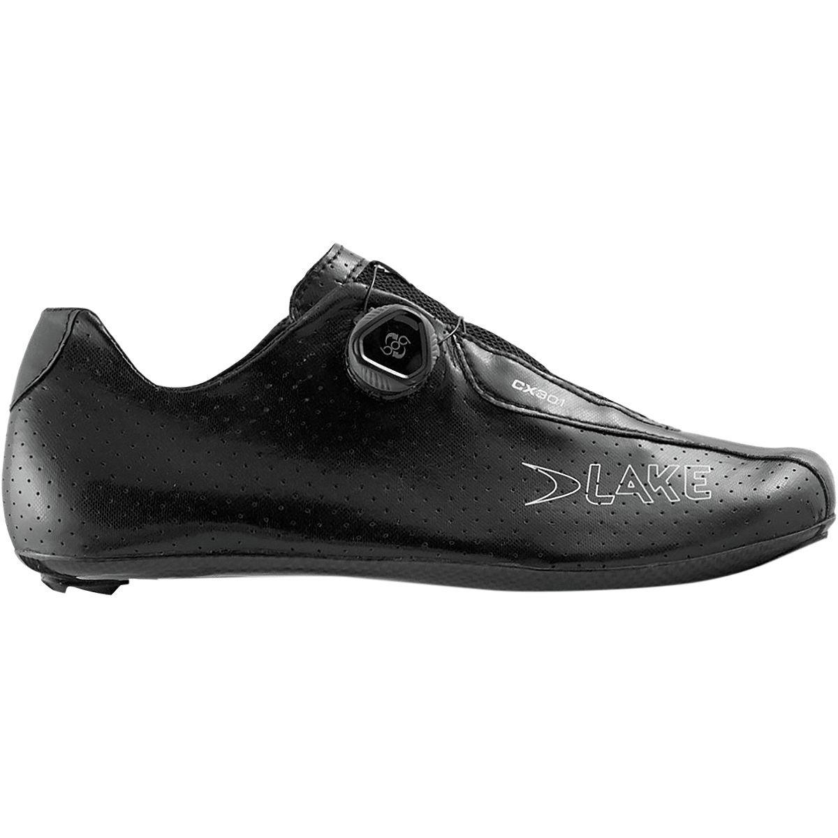 Lake CX301 エクストラワイド サイクリングシューズ - メンズ ブラック 44.0   B07LC3754D