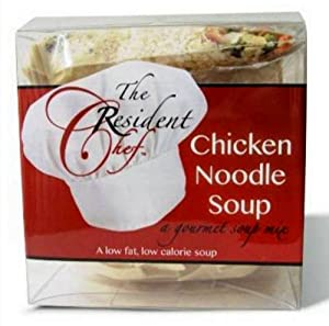 The Resident Chef *Chicken Noodle Soup* Gourmet Low Fat, Low Calorie Mix