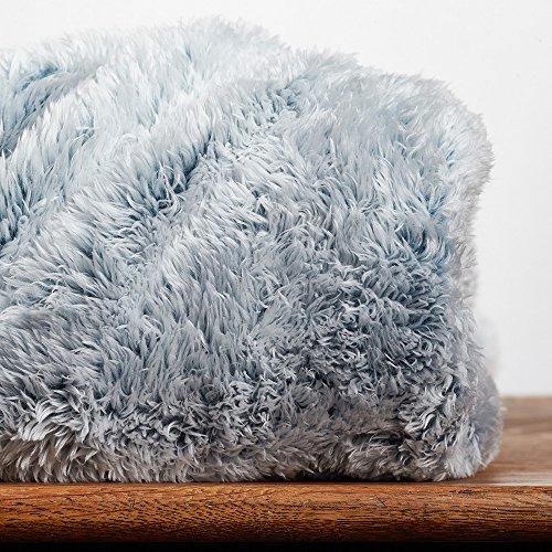Hot Sale Berkshire Blanket Frosty Tipped ExtraFluffy Throw Plush Amazing Berkshire Blanket Fluffy Throw