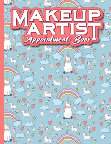 Download Makeup Artist Appointment Book: 7 Columns Appointment Journal, Appointment Scheduler Calendar, Daily Planner Appointment Book, Cute Unicorns Cover (Volume 65) pdf