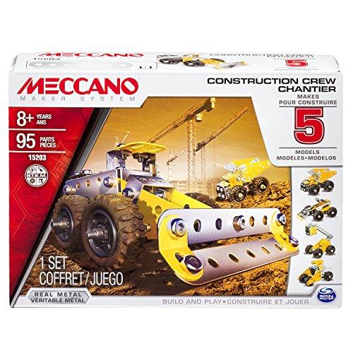 Meccano Multimodel Construction Crew 5 Model Set