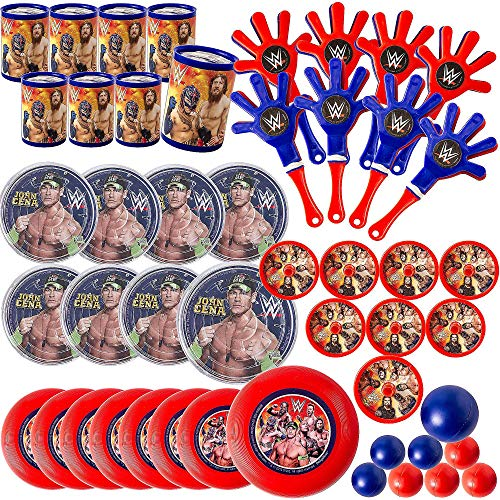amscan WWEParty Mega Mix Value Pack, Party Favor]()