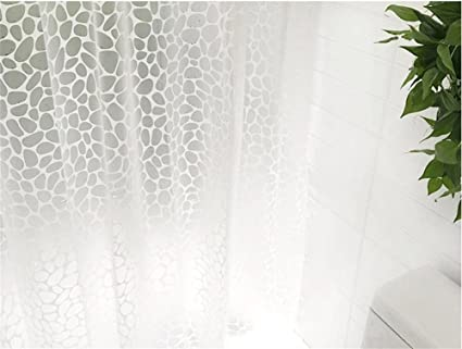 GCF® Cortinas de ducha más grueso impermeable Mildewproof cuarto de baño Cortinas de ducha Cortinas