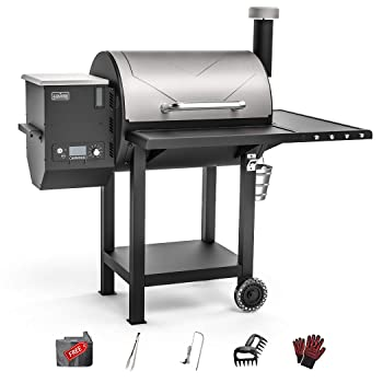 ASMOKE Large Wood Portable Pellet Grill
