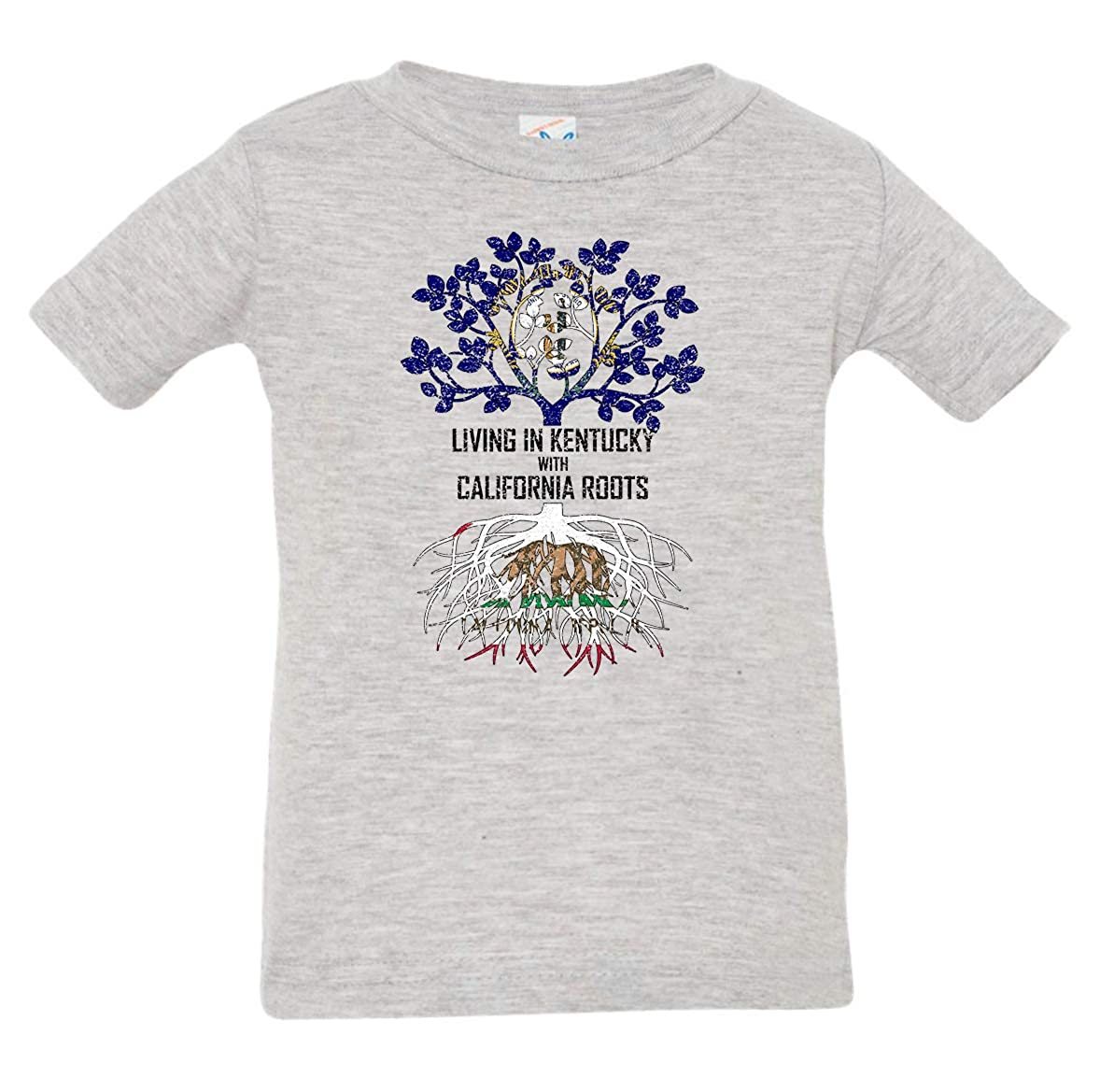 Tenacitee Babys Living in Kentucky California Roots Shirt