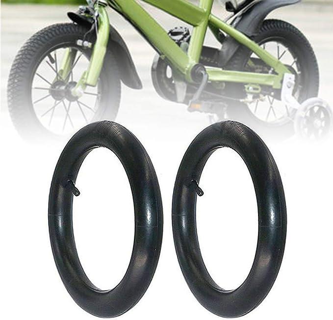 2X Pram//Kids Bike Inner Tubes 12 /½ x 1.75-2.125 with Bent Valve 12.5 Inch Pram Pushchair Etc