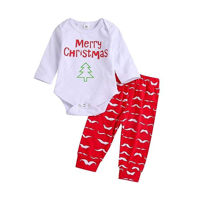 60c6961ada4c Amazon.com  OCEAN-STORE 2Pcs Christmas Toddler Baby Girls Boys 3-24 ...
