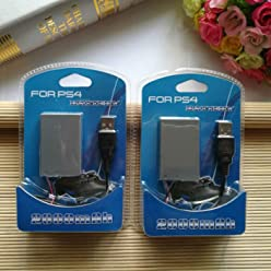 FidgetKute 2pcs 2000mah Replacement Li-ion Battery Pack for Sony PS4 Controller LIP1522