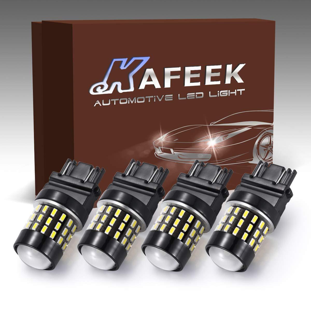 KAFEEK 2x Extremely Bright Canbus Error Free 921 912 W16W LED ...