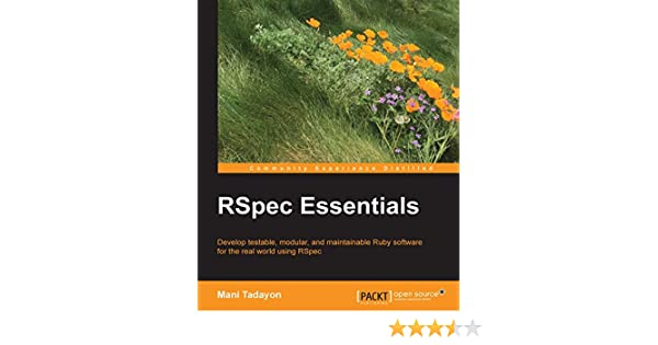 Rspec essentials 1 mani tadayon ebook amazon fandeluxe Images