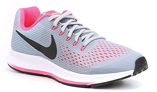5b9ba4c889bc NIKE Girl s Zoom Pegasus 34 (GS) Running Shoe  Amazon.co.uk  Shoes   Bags