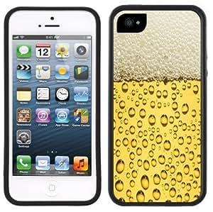 Beer Bubbles Handmade iPhone 5C Black Case