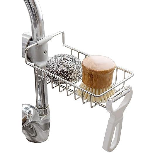 Kaxich - Esponja para fregadero de cocina, de acero inoxidable ...