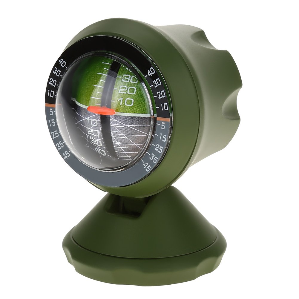 Auto Inclinometro Compass Angle Slope Level Meter Finder Tool Balancer misura apparecchiature per auto veicolo Alomejor