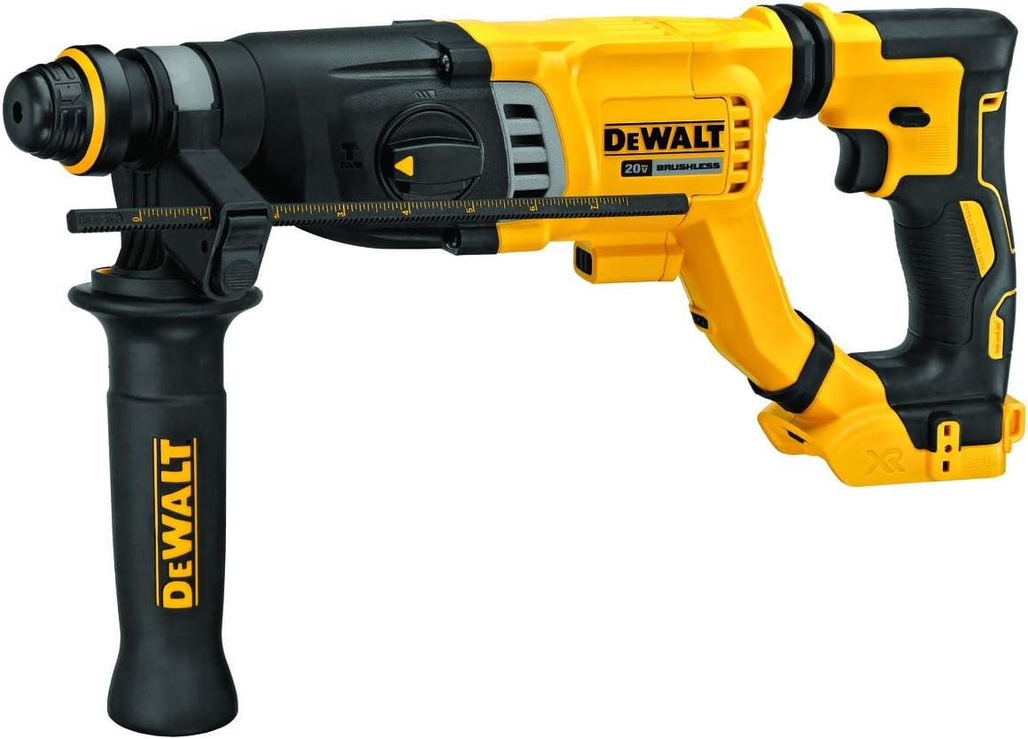 DEWALT 20V MAX Rotary Hammer, SDS Plus, 1-1/8-Inch, Tool Only (DCH263B)