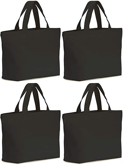 Top 8 Canvas Tote Apple