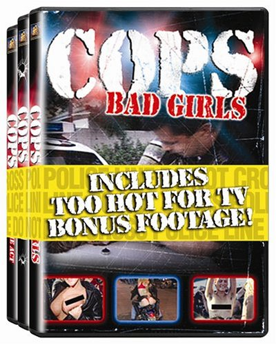 Cops 3-Pack (Bad Girls / Caught in the Act / Shots Fired)