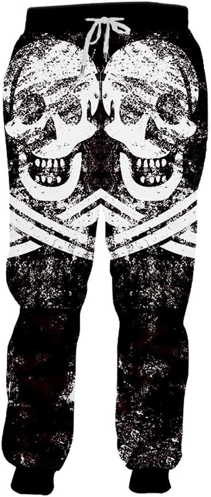Pantalones de chándal Unisex en 3D con Estampado Completo ...
