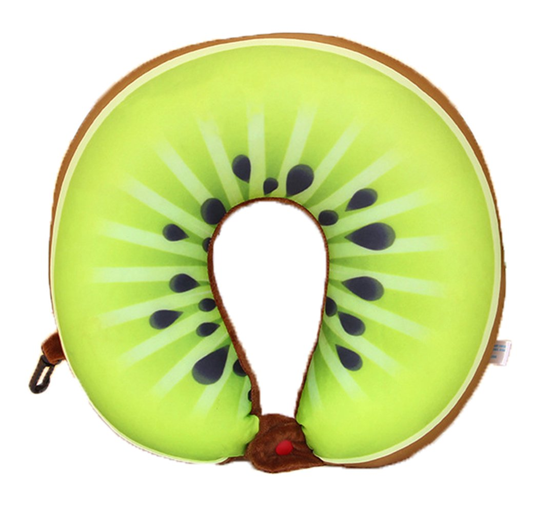 Gogolan Cute Fruit U-Pillow Neck Life Neck Pillow for Travel, Cervical Support,Proper Posture Aid by Gogolan
