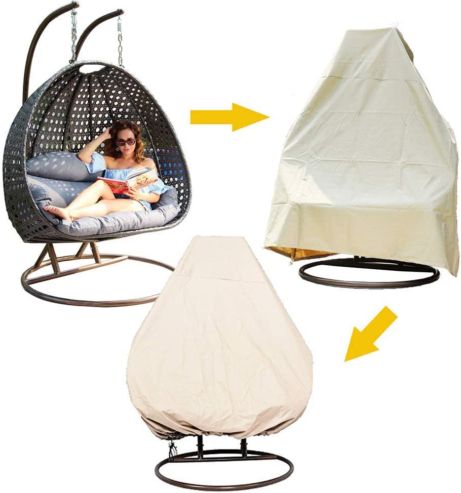 Chairs Garden Outdoors Heavy Duty Waterproof Cover Or Single Swinging Egg Chair Pod Chair Swingasan Outdoor Furniture Cover Up To 74 8 H X 45 3 D Hzc323 01 Hanshi Patio Chair Cover