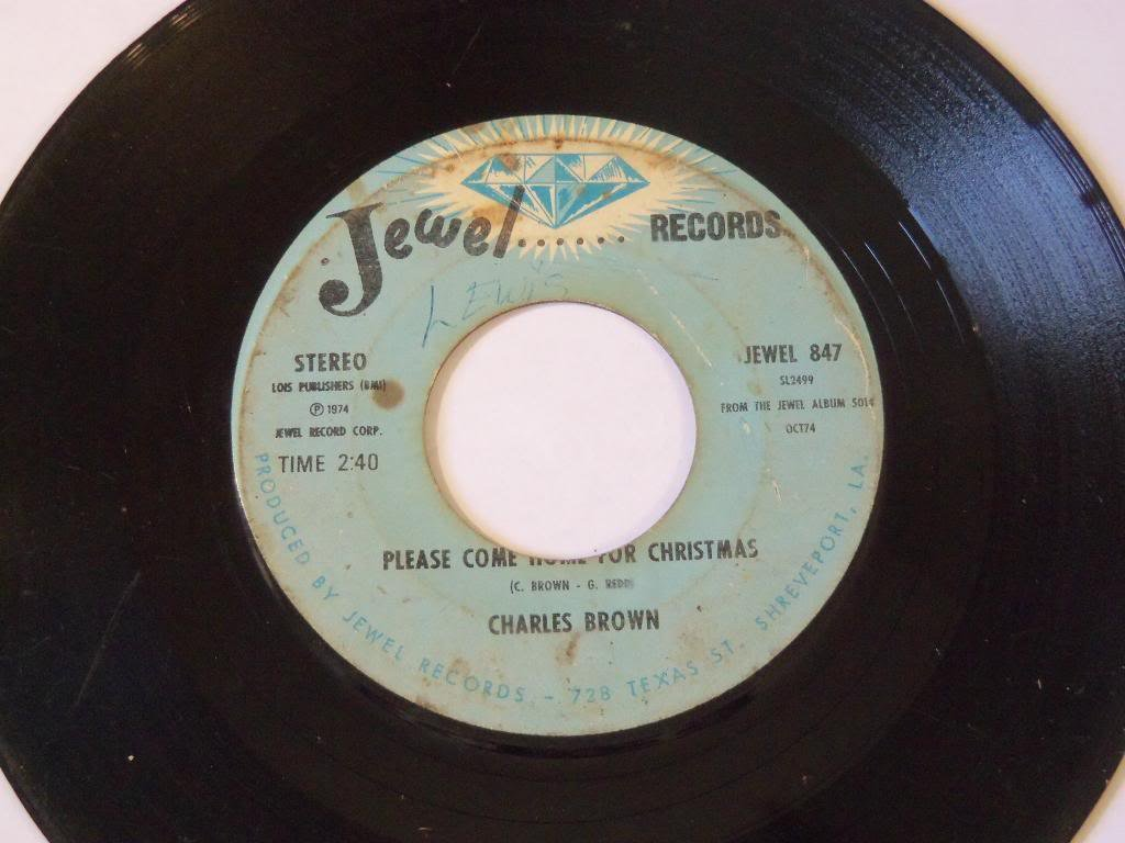"""Please Come Home For Christmas / Christmas In Heaven VINYL 7"""" 45 – Jewel – 847"""