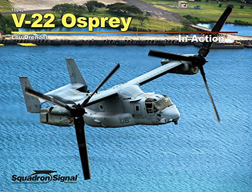 V22 Osprey Model (Squadron Products V-22 Osprey In Action (SC) Squadron Signal Books Model)