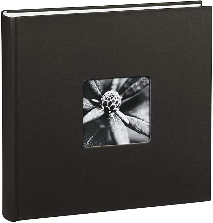 Jumbo-Album Brushstroke Blau 30x30 cm 80 weiße Seiten